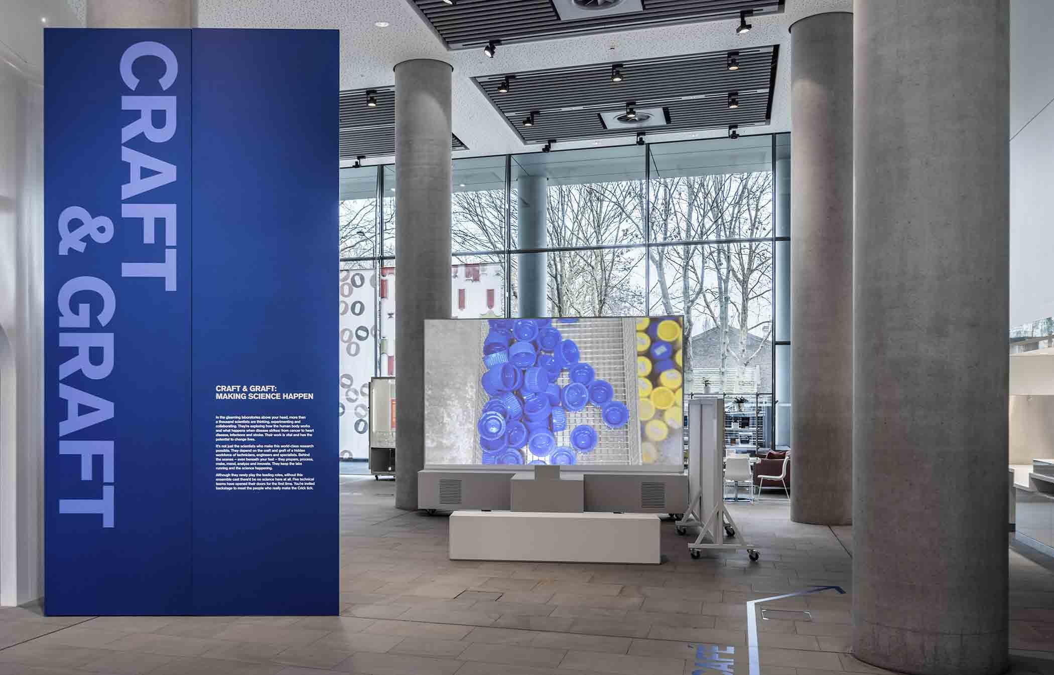 Francis Crick's Institute Craft & Graft: Making Science Happen