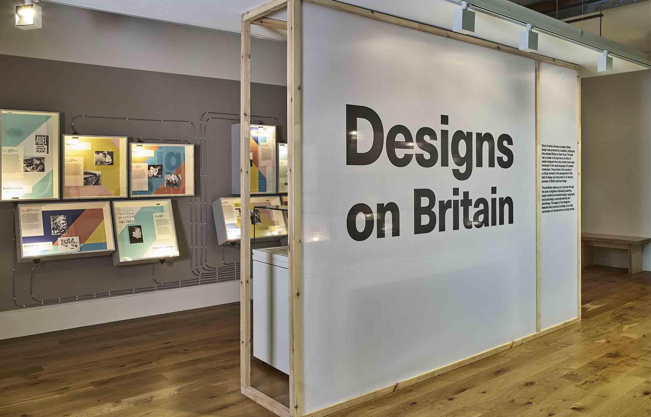 Jewish Museum, London Designs on Britain
